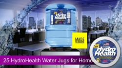 25 HydroHealth 3 Gallons Office Water Jugs