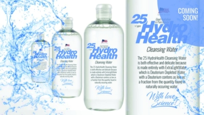 25 HydroHealth Cleansing Water
