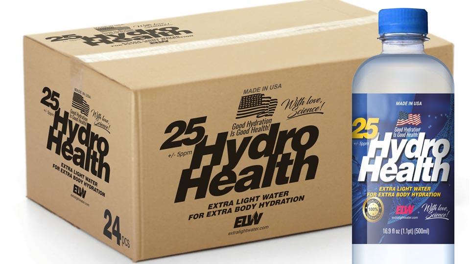 25 HydroHealth 24pcs x 500ml Box 2