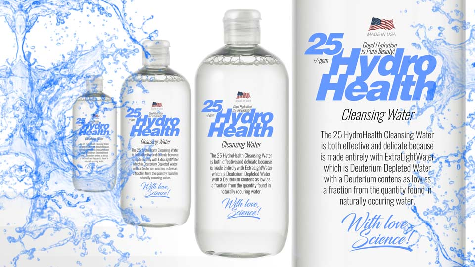25 HydroHealth Cleansing Water 2