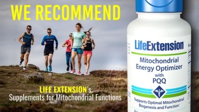 Mitochondrial Energy Optimizer with PQQ: Energize every cell in your body!