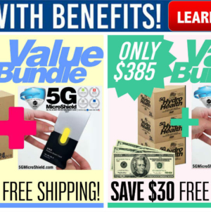 New! Our Latest Value Bundles Include 5G MicroShield EMF Protection Smart Cards!
